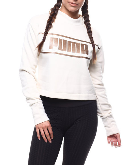 Puma - Cropped Mock Neck