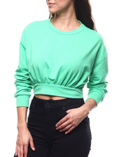 Tees - L/S Cropped Pullover-2280449