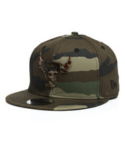 NBA, MLB, NFL Gear - 9Fifty Camo Capped Chicago Bulls Snapback Hat-2280578