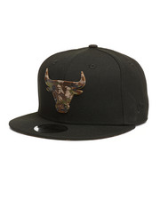 NBA, MLB, NFL Gear - 9Fifty Camo Capped Chicago Bulls Snapback Hat-2280579