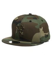 New Era - 9Fifty Camo Capped NY Yankees Snapback Hat-2280577