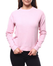 Fashion Lab - 2Tone Hacci Ribbed Sleeve Sweater-2280905