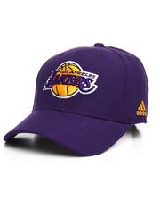 NBA, MLB, NFL Gear - Lakers Adidas NBA Strapback Cap-2280562