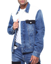 Denim Jackets - MODERN CLASSIC KEELING PATCH TRUCKER JEAN JACKET-2279937