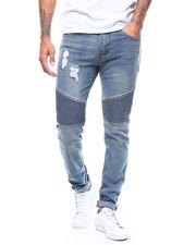 Jeans & Pants - PIN TUCK STRETCH MOTO JEAN-2280121