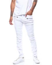 Jeans & Pants - Twill Moto Pant w Thigh Zip Detail-2279831