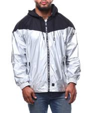 Big & Tall Faves - Mixed Media Windbreaker Jacket (B&T)-2281591