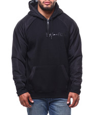 Marc Ecko Collection - Mixed Media Logo Hoodie (B&T)-2281566