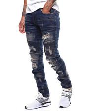 Jeans & Pants - TUCSON INDIGO MOTO JEAN  BY PREME-2281438