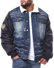 Top Gun - Denim Jacket With Bonede Fur (B&T)-2281164