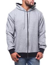 Light Jackets - Oversized Full Zip Tech Fleece Hoodie (B&T)-2278471