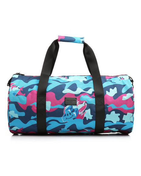 Pink Dolphin - Camo Duffel Bag