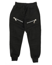 Bottoms - Fleece Zipper Joggers (2T-4T)-2268029