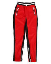 Activewear - Poly Color Block Track Pants (8-20)-2280655