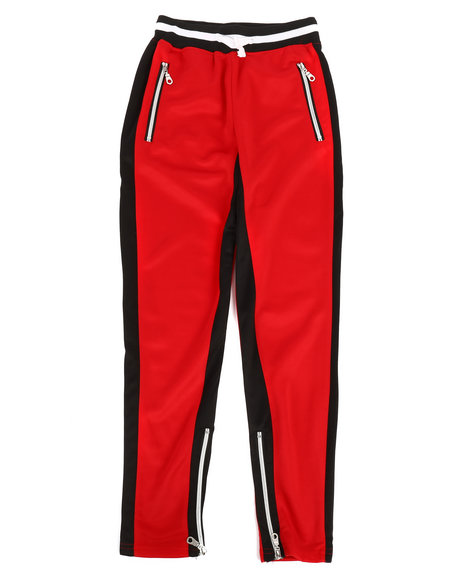 Arcade Styles - Poly Color Block Track Pants (8-20)