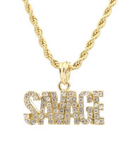 Stocking Stuffers Men - Savage Necklace-2281717