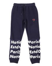 Boys - Print Block Sweatpants (8-20)-2281687