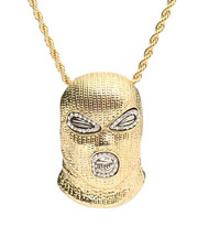 Stocking Stuffers Men - Masked Necklace-2281699