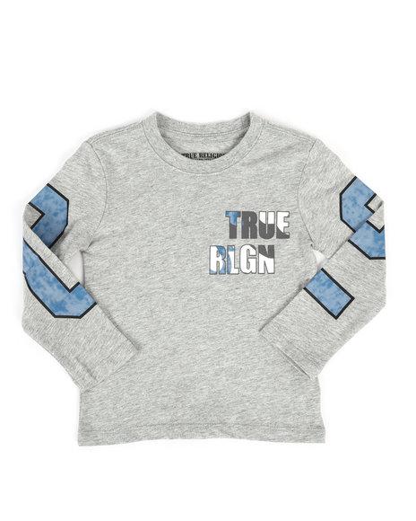 True Religion - Long Sleeve True Religion Tee (2T-4T)