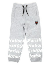 Boys - Print Block Sweatpants (4-7)-2281677