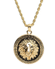 Stocking Stuffers Men - Lion Head Necklace-2281713