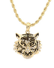Stocking Stuffers Men - Tiger Necklace-2281700