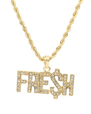 Stocking Stuffers Men - Fre$h Necklace-2281701