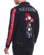 Denim Jackets - REVENGE DENIM JACKET-2281920