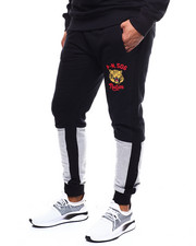 Parish - COLORBLOCK MASCOT LOOPBACK SWEATPANTS-2282040