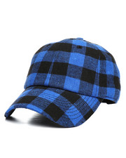 Dad Hats - Plaid Ball Cap-2282204