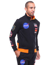 Hudson NYC - MEATBALL SPACE SUITE TRACK JACKET-2281856