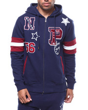 Parish - Varsity LOOP BACK FULL ZIP HOODY-2281974