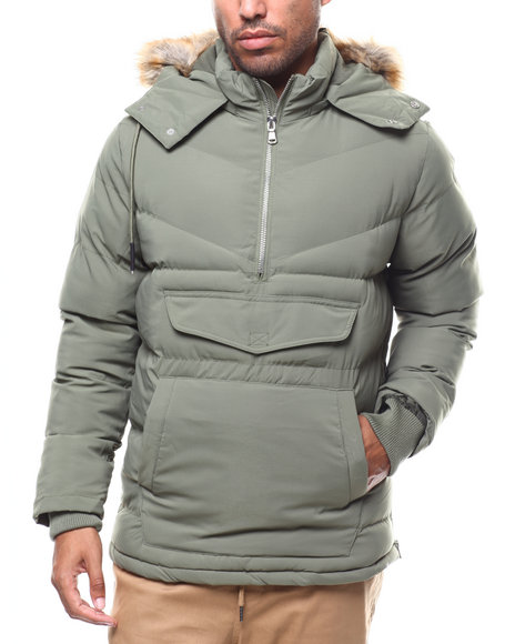 Jordan Craig - Faux Fur Puff Anorak Jacket