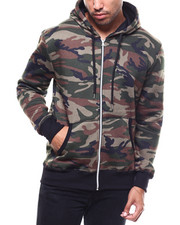 Buyers Picks - Fleece Full Zip Hooded Sweatshirt-2282211