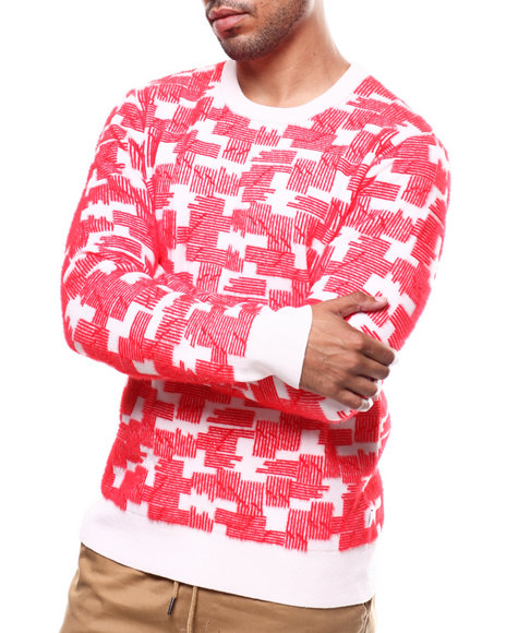 WESC - PUZZLE CHECK SWEATER