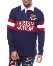 Shirts - L/S COLLEGIATE  POLO-2282151