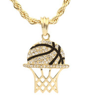 Accessories - Basketball Hoop Necklace-2281712