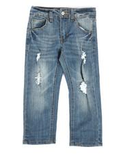 Bottoms - Slim Fit Stretch Denim Jeans (4-7)-2282025