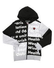 Hoodies - Color Block Full Zip Hoodie (8-20)-2281769