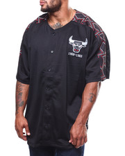 Mitchell & Ness - Bull Winning Team Mesh Button Front (B&T)-2282492