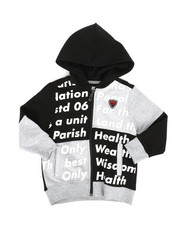 Hoodies - Color Block Full Zip Hoodie (2T-4T)-2281779
