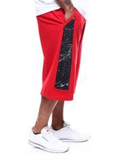 Shorts - Crack Printed Terry Short (B&T)-2282732