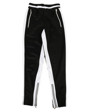 Activewear - Poly Color Block Track Pants (8-20)-2280660