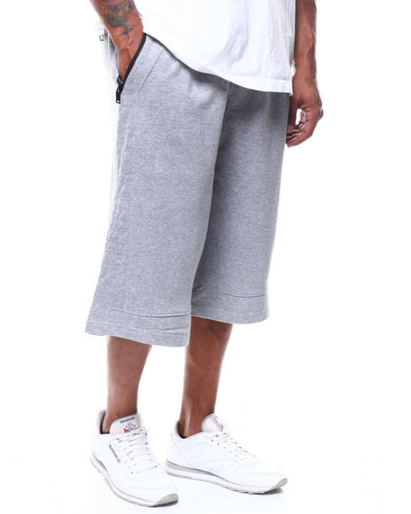 SWITCH - Solid Shorts w/ Zippers (B&T)