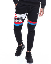 Jeans & Pants - OVERSIZED PYRAMID STRIPE SWEATPANT-2282277