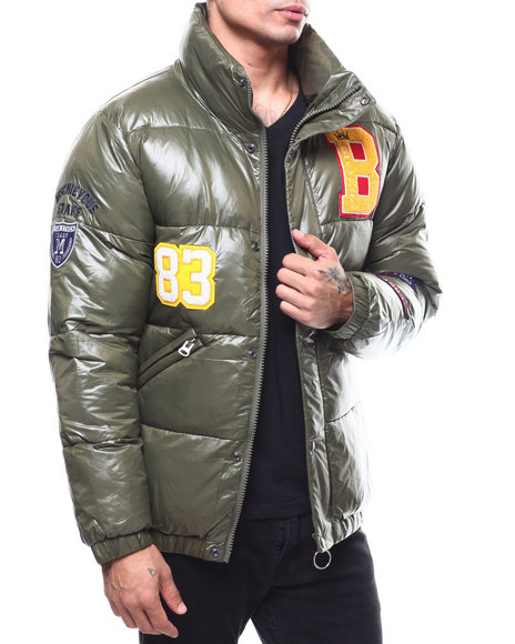 MADBLUE - Varsity Puffer Jacket