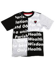 Parish - Cut & Sewn Color Block Tee (8-20)-2281806
