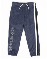 Boys - Striped Wordmark Fleece Joggers (4-7)-2281727