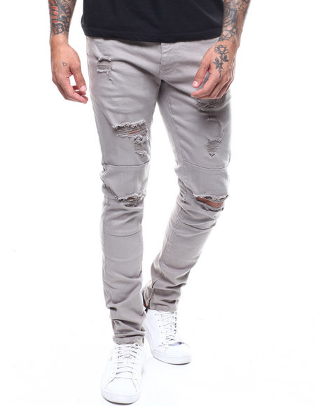 aaa40e81ce484e Buy Sean Distressed Chino Men s Jeans   Pants from Jordan Craig ...