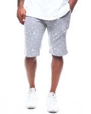 Men - Splatter Printed Shorts (B&T)-2282748